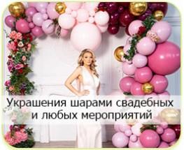 Оформление шарами праздников и мероприятий