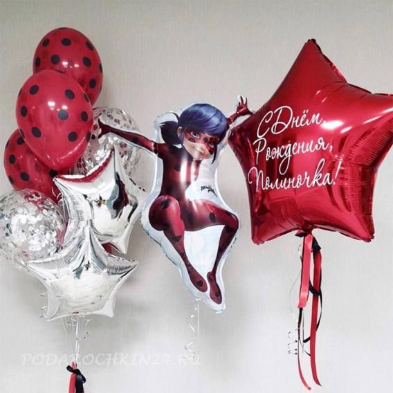 Фонтан из воздушных шаров на день рождения девочки