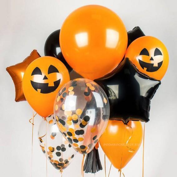 """Набор воздушных шаров """"На хэллоуин"""""""